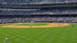 Die Yankees spielen Rene Stareczek